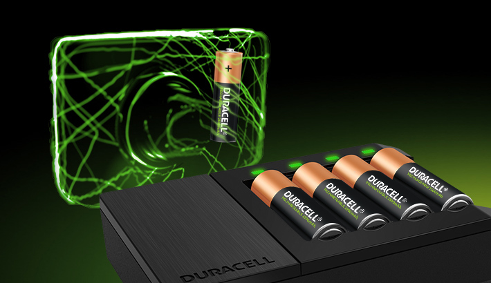 Duracell High-Speed chargers provide long-lasting performance