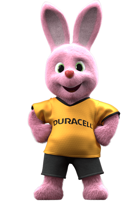 Duracell Bunny mascot