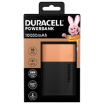 Duracell Powerbank 10050mAh in a package