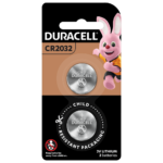 Duracell Lithium Coin 2032 Batteries in a 2-piece pack