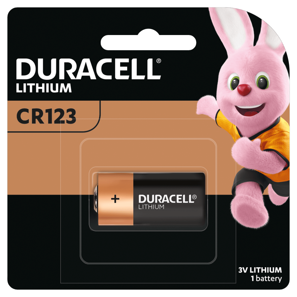 Duracell High Power Lithium 123 Battery 3V