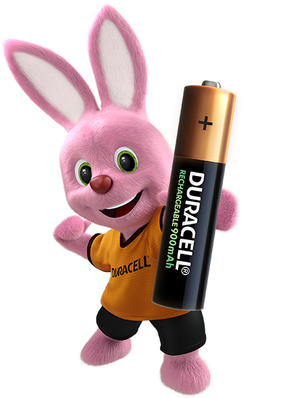 Duracell Bunny introduces Rechargeable AAA 900mAh Battery