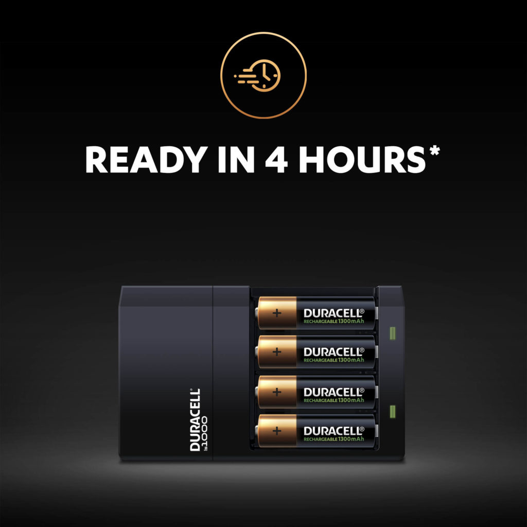 Duracell 4 Hour Hi-Speed Battery Charger