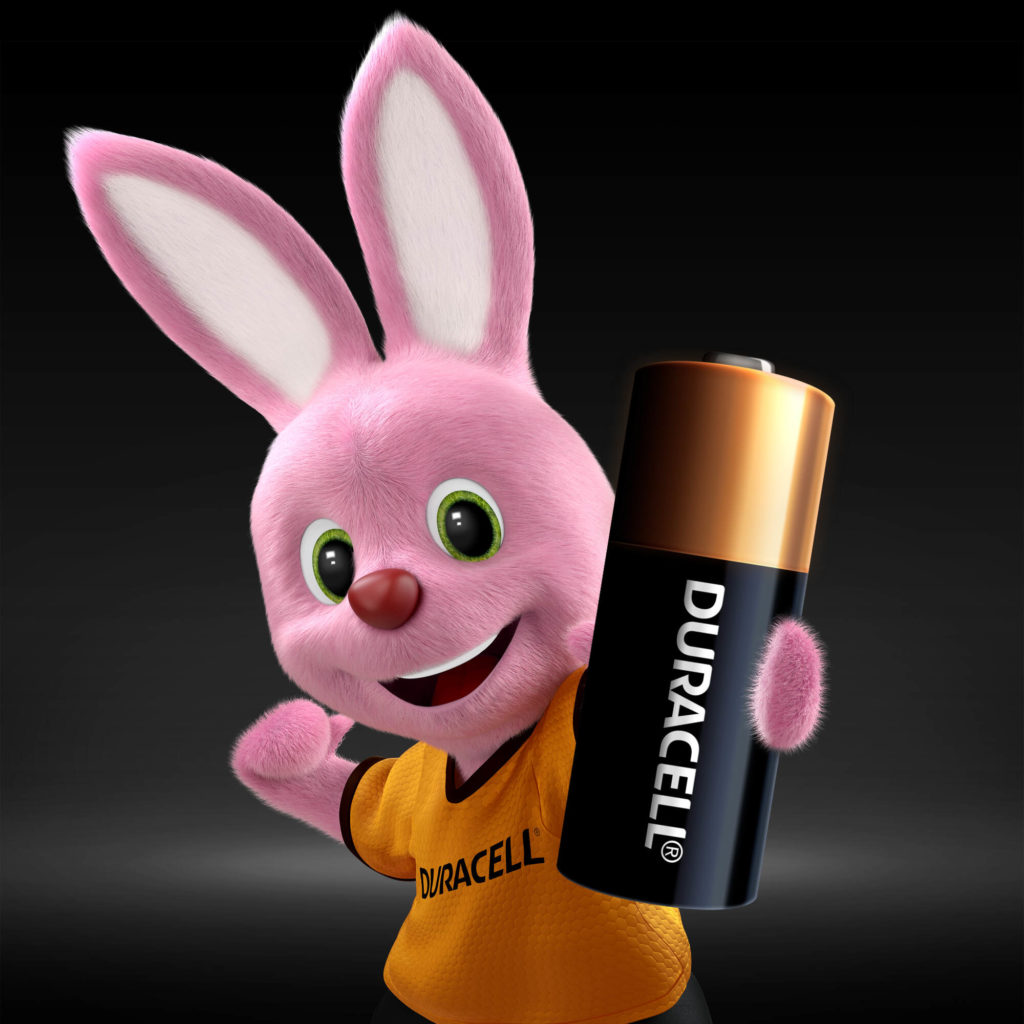 Duracell Bunny introduces Specialty Alkaline MN21 size 12V Battery